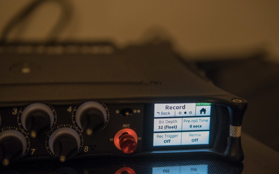 Audio-Aufnahmen in 16, 20, 24 oder 32 Bit…